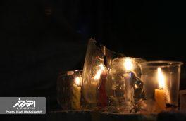 مراسم شمع سوزان در اهر به یاد مظلومیت سید و سالار شهیدان (ع) و یاران با وفایش