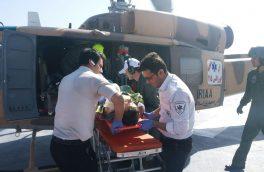 قطع دست مردی در یک کارگاه ماسه شوئی در آبش احمد