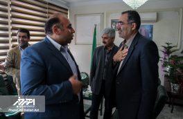 دیدار عوامل اجرایی جشنواره سراسری تئاتر کوتاه ارسباران با فرماندار شهرستان اهر