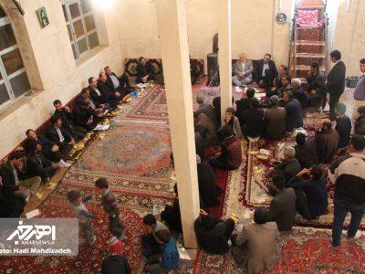 دیدار صمیمی فرماندار و نماینده اهر با اهالی روستای ساری یارقان