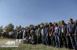 مراسم تشییع جانباز شهید حاج محمد حسن فتح اله پور گرنگاه