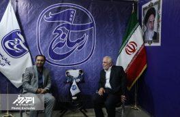 بازدید مهندس عبدالهی، نماینده مردم اهر و هریس از نمایشگاه مطبوعات استان