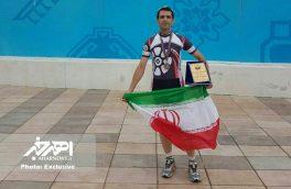 کسب مدال برنز توسط ورزشکار اهری در مسابقات کاپ آزاد آذربایجان