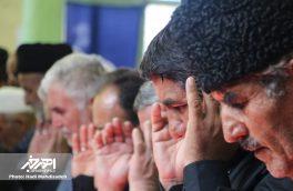 اقامه نماز ظهر عاشورا در مسجد مقدس ابواسحق اهر