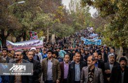 راهپیمایی روز ۱۳ آبان ۱۳۹۶ در اهر