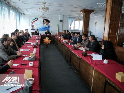 جلسه شورای مبارزه با مواد مخدر اهر به ریاست معاون فرماندار