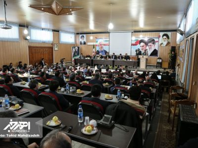 شورای اداری شهرستان اهر با حضور دکتر خدابخش، استاندار آذربایجان شرقی