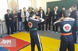 اولین باشگاه روستایی آذران رزم در روستای سرند افتتاح شد + تصاویر
