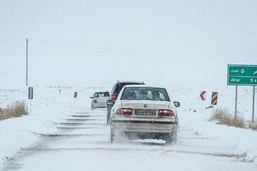 احتمال بارش برف و کاهش دید در جاده های آذربایجان شرقی