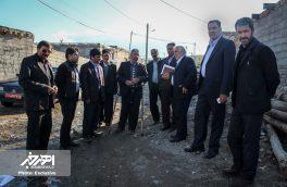حضور نماینده اهر و هریس و فرماندار شهرستان اهر در روستاهای ریحان و یوزبند