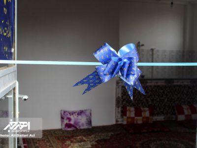 افتتاح خانه عالم در روستای ورگهان شهرستان اهر
