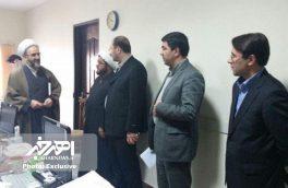 بازدید سرزده رئیس کل دادگستری استان از حوزه قضائی شهرستان ورزقان