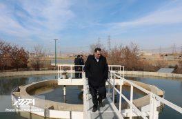 بازدید فرماندار اهر از تصفیه خانه آب شرب این شهر