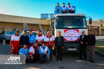 کمک های دانش آموزان و فرهنگیان اهری به مناطق زلزله زده کرمانشاه ارسال شد