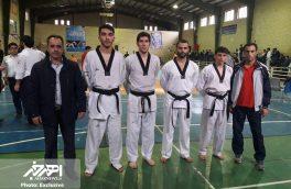 کسب مقام دوم توسط تیم تکواندو دانشگاه آزاد اهر در مسابقات استانی