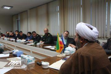 جلسه شورای پیشگیری از وقوع جرم اهر با موضوع ارائه راهکار برای رفع مشکلات پارک خودرو و پارکینگ برگزار شد