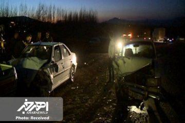 تصادف سه خودرو در جاده مشگین شهر – اهر با ۳ مصدوم