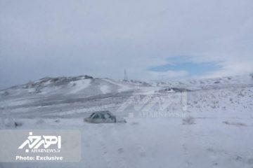 تصادف مرگبار سمند و پراید در جاده اهر – تبریز با ۱ کشته