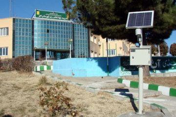 نصب اولین دستگاه دیتا لایگر جهاد کشاورزی استان در اهر