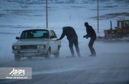 کولاک شدید برف در جاده اهر – کلیبر (۱۱ بهمن ۱۳۹۶)