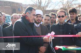 پروژه آسفالت روستای ورگهان به بهره برداری رسید