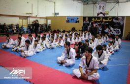 مسابقات پنج جانبه تکواندو جام فجر در شهرستان اهر