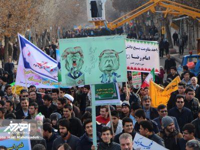 راهپیمایی مردم اهر در آغاز چهلمین سال پیروزی انقلاب اسلامی (۲۲ بهمن ۱۳۹۶) – بخش ۱