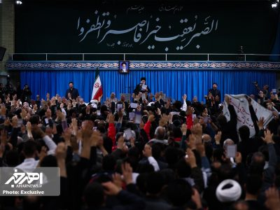 دیدار مردم آذربایجان شرقی با رهبر انقلاب به مناسبت چهلمین سالگرد قیام ۲۹ بهمن