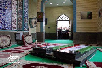 یادمان شهدای گمنام دانشگاه آزاد اهر افتتاح شد