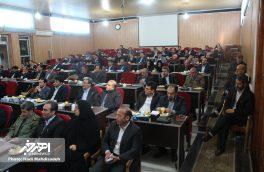 جلسه مشترک ستاد اقتصاد مقاومتی و شورای برنامه ریزی اهر با حضور رئیس سازمان برنامه و بودجه استان