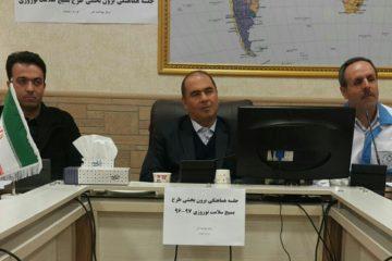 برگزاری جلسه هماهنگی طرح بسیج سلامت نوروزی در اهر