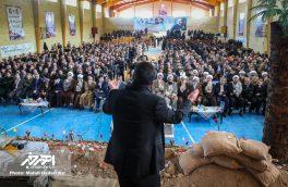 پنجمین یادواره ۱۲۰۰ شهید منطقه ارسباران در شهرستان هوراند