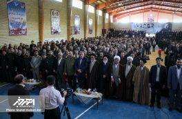 پنجمین یادواره ۱۲۰۰ شهید منطقه ارسباران در هوراند برگزار شد