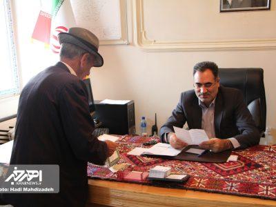 دیدار مردمی فرماندار شهرستان اهر (۲۳ اسفند ۱۳۹۶)