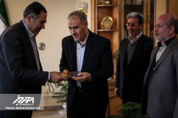 حسین بگلری رئیس کمیته امداد امام خمینی (ره) اهر شد / طهماسبی راهی جلفا شد