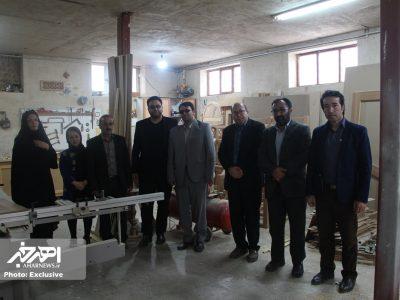 دیدار با علی اکبر فغفوری، هنرمند پیشکسوت اهری به مناسبت هفته هنر انقلاب اسلامی