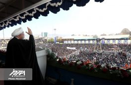 ورود رئیس جمهور به تبریز و حضور در اجتماع بزرگ و پرشور مردم استان آذربایجان شرقی
