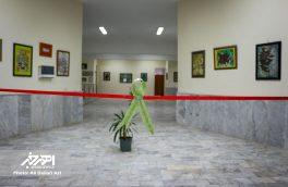 نمایشگاه خوشنویسی «ره پویان عشق» در اهر برپا شد + تصاویر