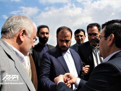 سفر حسینعلی امیری، معاون امور مجلس رئیس جمهور به شهرستان اهر