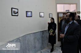 آیین افتتاح دومین نمایشگاه انفرادی آثار کاریکاتور مهسا اسکندری