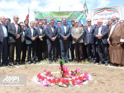 مراسم کلنگ زنی هتل ۵ ستاره صنایع معدنی مهر اصل در اهر