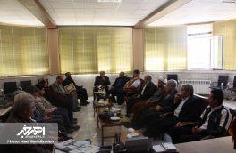جلسه اعطای حکم اعضای شورای ارزشیابی و نظارت بر نمایش شهرستان اهر
