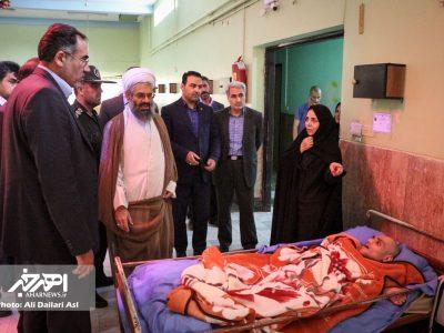بازدید مسئولان از مرکز توانبخشی طهور اهر در دومین جمعه ماه مبارک رمضان