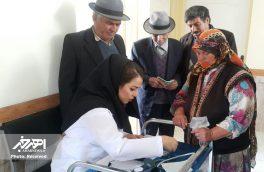 اعزام تیم بسیج پزشکی شهرستان اهر به روستای بالی قشلاق