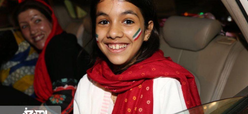 شادی اهری ها بعد از برد تیم ملی ایران در مقابل مراکش