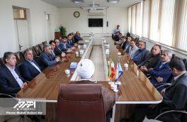 دیدار اعضای شورای اداری اهر با رئیس دادگستری، دادستان و قضات دادگستری