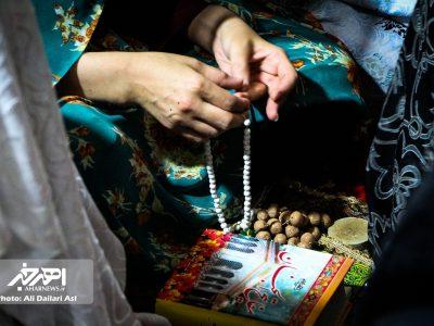 مراسم احیاء شب بیست و سوم ماه مبارک رمضان در مساجد اهر