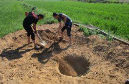 ۱۶۸ حلقه چاه غیرمجاز در هریس پر شد