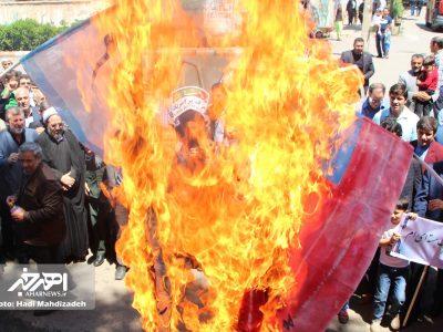 راهپیمایی روز جهانی قدس در اهر