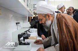 مراسم افتتاح آزمایشگاه گیاه پزشکی در اهر